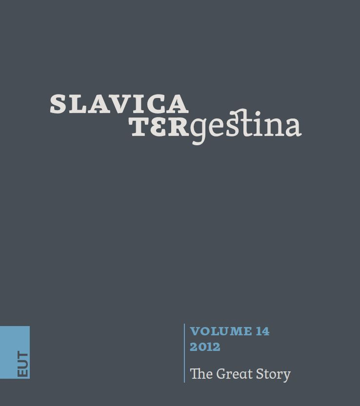 Slavica tergestina 14 (2012) - The Great Story
